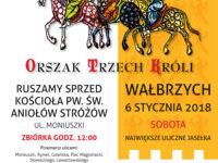 Zaproszenie na Wałbrzyski Orszak Trzech Króli