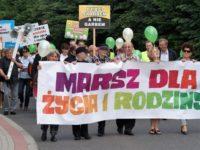 Wałbrzych – Piaskowa Góra, 19 czerwca 2016; Marsz dla życia i rodziny