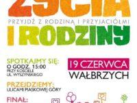 """Zaproszenie na kolejny """"Marsz dla życia i rodziny"""" w Wałbrzychu"""